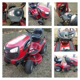 """42"""" Riding Lawn Mower with Attachments in Byron, Georgia"""