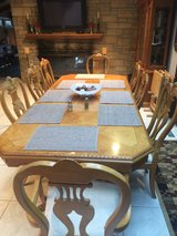 Dinning room set with China cabinet in Morris, Illinois