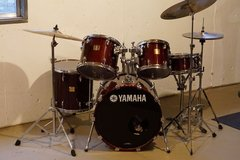 Yamaha Maple Custom Absolute Drum Set in Aurora, Illinois