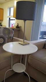 Side table & lamp in Naperville, Illinois