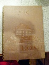 1938 Wheaton High School Yearbook in Bartlett, Illinois