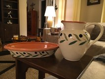 Pitcher & Oval Dish in Plainfield, Illinois