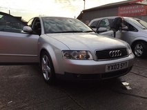 2004 SILVER AUDI A4 2.0 FSI PETROL in Lakenheath, UK