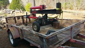 Log splitter in Warner Robins, Georgia