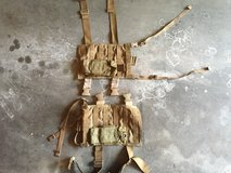 2 Drop Leg Molle Panels with Magazine Pouch. in Camp Pendleton, California