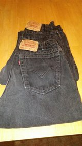 Black levi jeans 2 pair in Yucca Valley, California