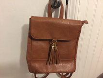 Brown Backpack Purse in Sandwich, Illinois