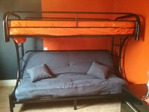 Twin bunk over Full Futon in Glendale Heights, Illinois