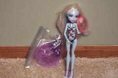 Monster High Abbey Bominable Doll Bominable Skull Shores Doll in Plainfield, Illinois