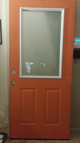 Steel exterior door in Yucca Valley, California