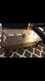 Glass Top Coffee Table Set in Hinesville, Georgia
