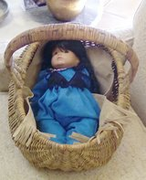 Native American Doll & Basket in Ruidoso, New Mexico