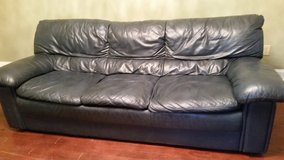 Beautiful leather couch and love seat in Camp Lejeune, North Carolina