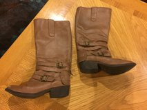 Reduced: Girls Tall Brown Boots in Plainfield, Illinois