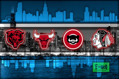 Chicago Sports Teams Poster 12x18 or 16x20 (available with Cubs or Sox) in bookoo, US