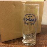 Orion Beer Glasses - Set of SIX in Okinawa, Japan