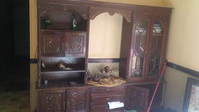 Wall unit. Portugal. Old. Needs to go! 100 OBO. in Warner Robins, Georgia