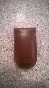 Men's Coach Money Clip (Not in box but never used) in Glendale Heights, Illinois
