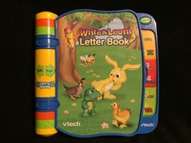 Vtech Write and Learn Letter Book in Glendale Heights, Illinois