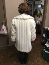 Beautiful Real White Fox Coat in Fort Polk, Louisiana