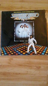Saturday night fever LP with 4 records and 17 songs in Glendale Heights, Illinois
