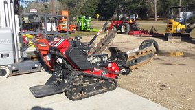 "42"" stand on trencher in Fort Polk, Louisiana"