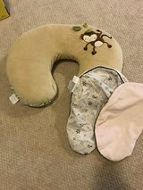 Boppy pillow with extra cover in Glendale Heights, Illinois