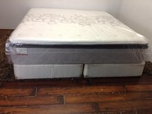 NewKing Mattress(Collegedale Cushion Firm Euro Pillowtop) in Tomball, Texas