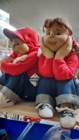 Soft Sculpture Dolls by Emily G. Wilson in Glendale Heights, Illinois