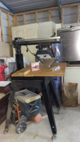 "10"" Craftsman Radial Arm Saw With Stand in Kingwood, Texas"
