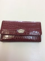 ***Red Crocodile Look Checkbook Wallet*** in Houston, Texas