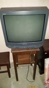 Free tv and stand in Brockton, Massachusetts