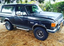 87 bronco xlt, title and smog in hand ready to sell today in Temecula, California