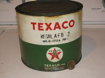 Texaco Grease Can in DeKalb, Illinois