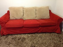 Red Sofa in CyFair, Texas