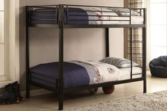 BLACK FINISHED CONTEMPORARY BUNK BED FREE DELIVERY in Huntington Beach, California