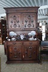 gorgeous Henri II dining room hutch in Spangdahlem, Germany