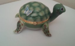 """""""Little Charmer"""" Tiny Turtles Limoges Style Music Box in Spring, Texas"""