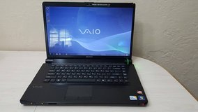 "16.4"" Sony Vaio VGN-FW560F Intel Core 2 Duo P7450@2.13GHz 6GB RAM 500GB Hdd in Oceanside, California"