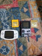 Pokemon yellow and gold with gameboy color and advanced in Temecula, California