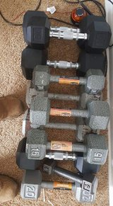 Total 195lbs dumbbells in Hinesville, Georgia