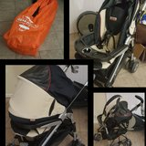 Peg perego stroller with carrying bag in Vacaville, California
