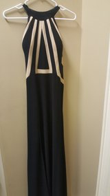 Black formal LaFemme dress in Houston, Texas