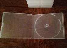 10 Clear Poly DVD/CD Cases in Sugar Grove, Illinois