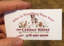 Call me when you NEED a Pet Sitter... in Warner Robins, Georgia