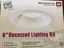 Six-inch recessed lighting kit in Okinawa, Japan