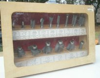 15 PIECE ROUTER BITS in WOODEN in Camp Lejeune, North Carolina