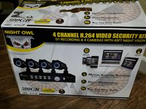 night owl 4 channel video security in Vacaville, California