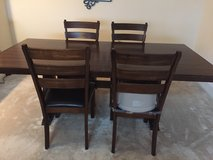kitchen table and chairs (long wooden table and 4 chairs) in Fort Belvoir, Virginia