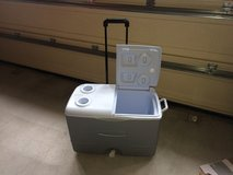 Rubbermaid Cooler on Wheels with Telescoping Handle in Okinawa, Japan
